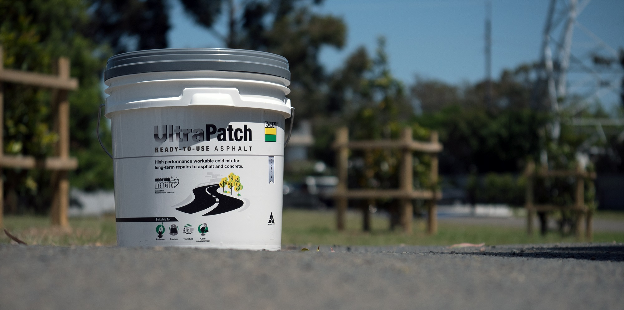 UltraPatch high performance cold mix asphalt