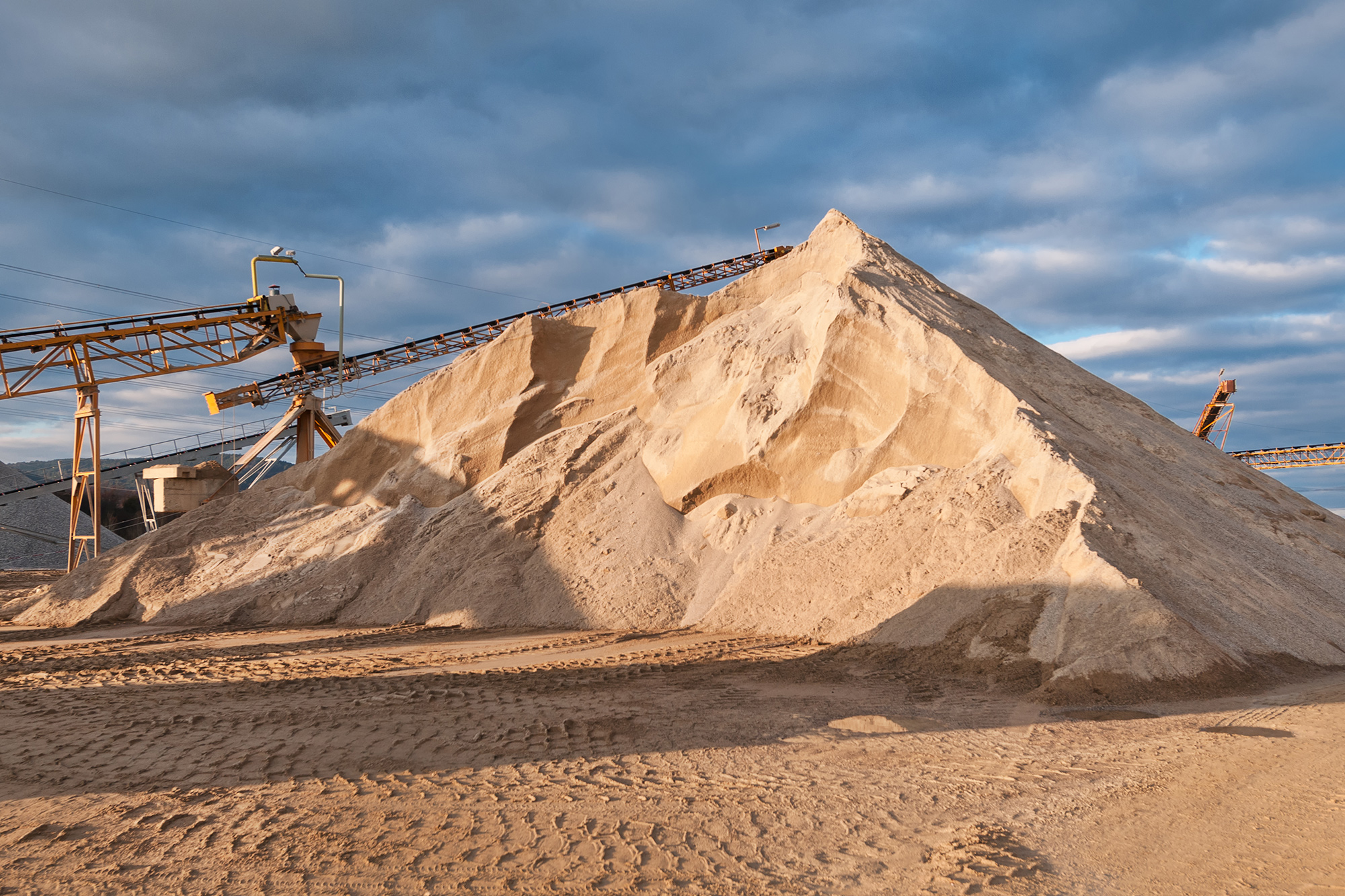 Natural Sand Quarry Boral