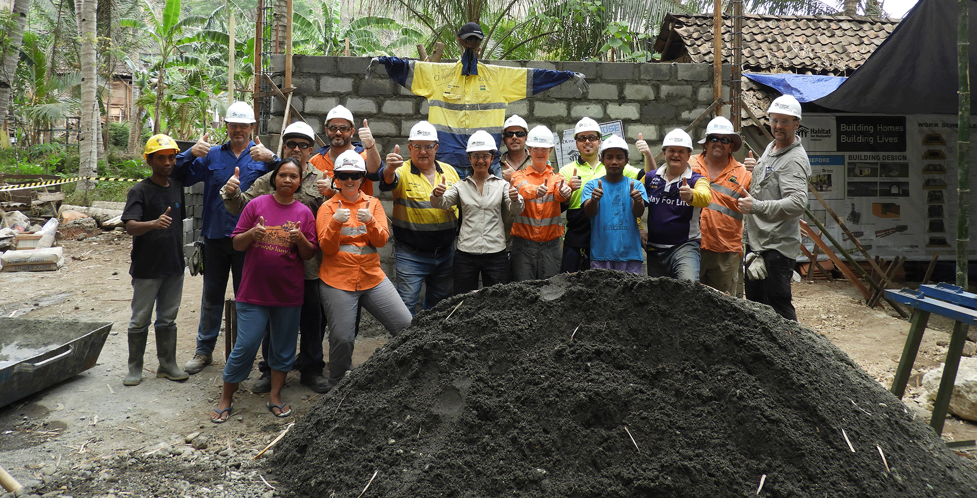 Habitat for Humanity Boral Indonesia 2018