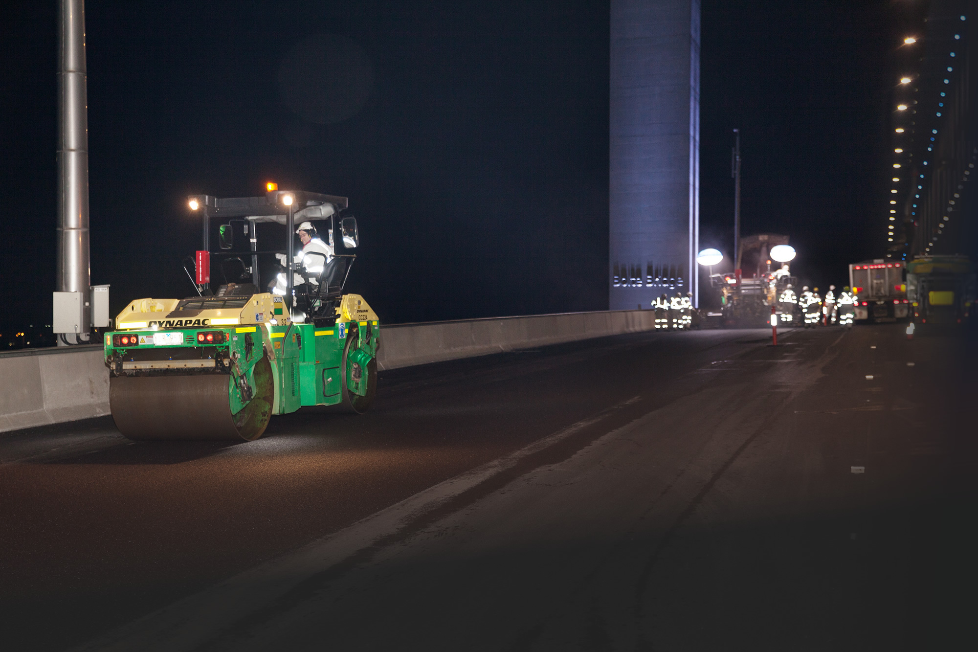 Boral Asphalt Bolte Bridge Resurfacing