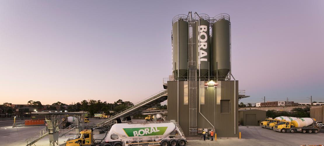 Boral Concrete   Boral