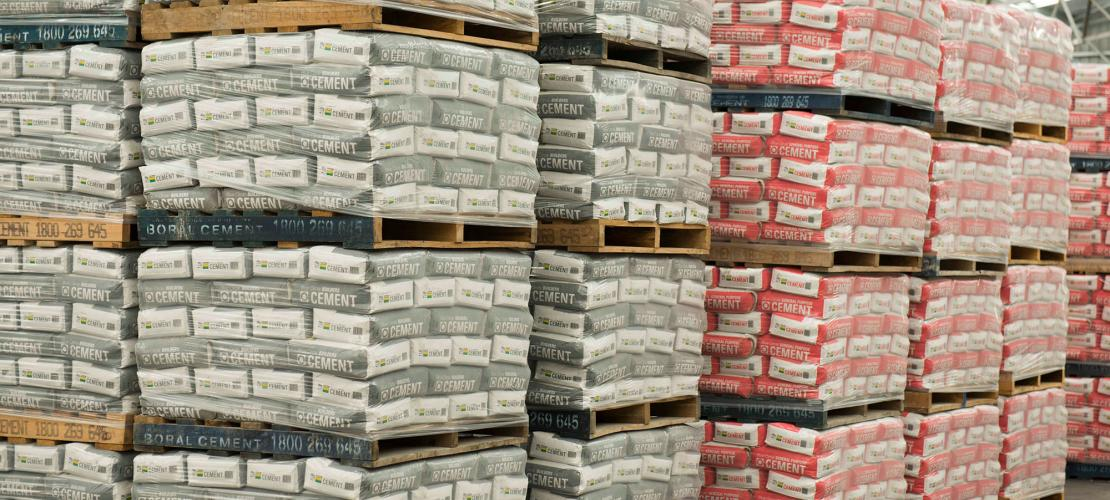 Boral Packaged Cement