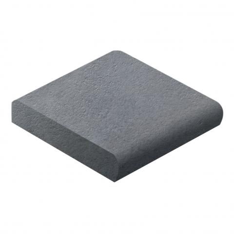 Pavers Abode Bullnose Charcoal Boral