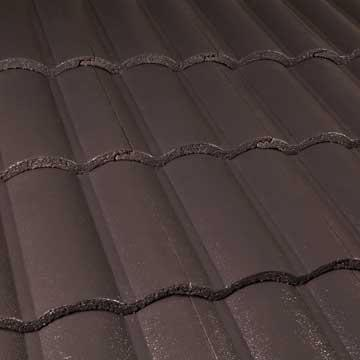 Boral Roof Tile Macquarie Dark Chocolate
