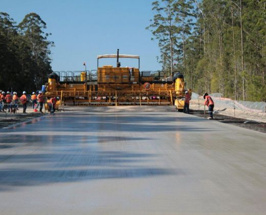 Pacific Highway Upgrade: Kundabung to Kempsey paving