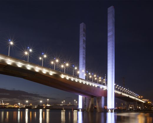 Bolte Bridge Resurfacing Boral