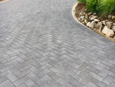 Boral Classicpave Charcoal Paver