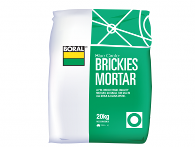 Brickies Mortar Boral 20Kg