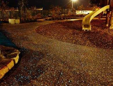 Illuminated Concrete Boral