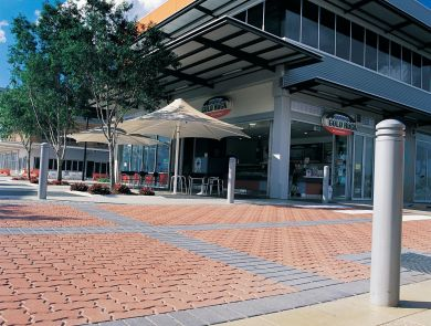 Boral Commercial Interpave pavers  Clinker Red