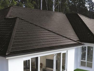 Boral Ceramic Artline Roof Tile Onyx