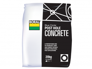 Cement Packaged Products Post Hole Concrete Boral