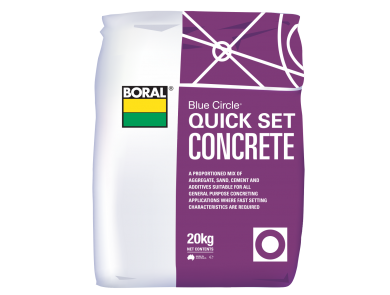 Boral Quick Set Concrete