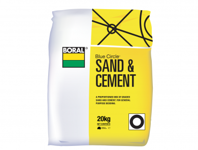 Boral Sand and Cement