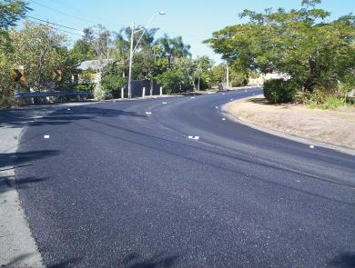 Boral Asphalt spray seal