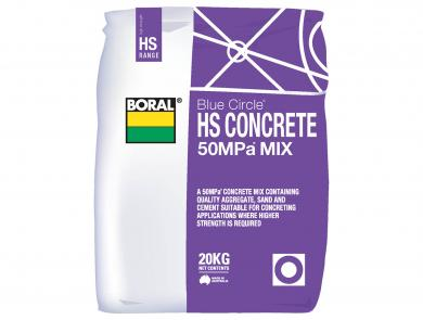 Cement Packaged Products High Strength Concrete Boral