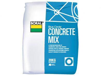 Cement Packaged Products Concrete Mix Boral