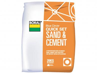 Boral Quick Set Sand and Cement