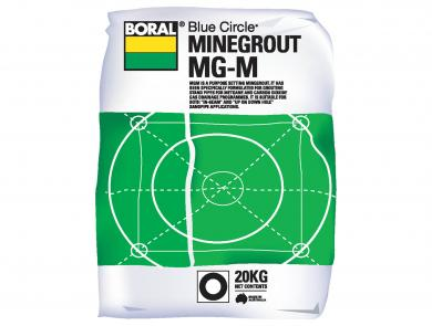 Minegrout MGM Packaged Cement Boral