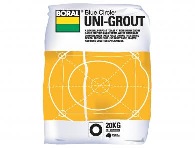 Unigrout Packaged Cement Boral