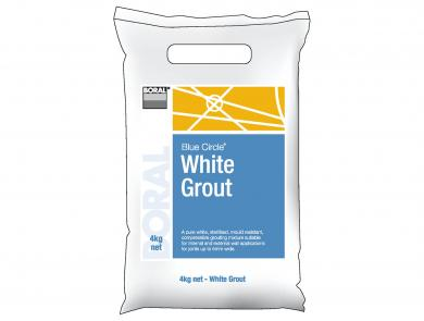White Grout Packaged Cement Boral