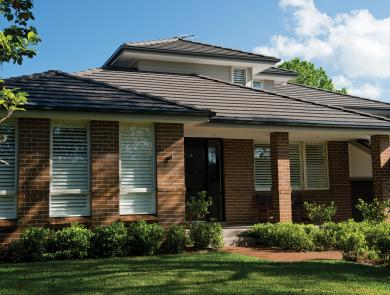 Boral Linea Roof Tile Charcoal Grey